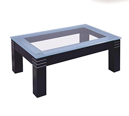 CT04 Tempered Glass Top Coffee Table