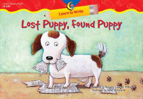 Lost Puppy, Found Puppy Learn to Write Reader