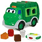 The Learning Journey Remote Control Shape Go Green Recycle Truck
