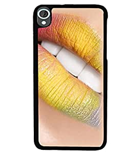 PrintVisa Plastic Multicolor Back Cover For HTC Desire 820 & 820Q & 820S