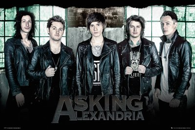 GB eye, Asking Alexandria, Window, Maxi Poster, 61x91.5cm
