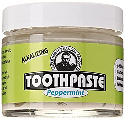 Uncle Harry's Peppermint based Fluoride Free Toothpaste