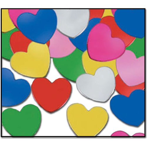 FANCI-FETTI HEARTS Confetti (1 per package)