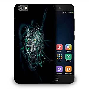 Snoogg Dark Wolf Designer Protective Phone Back Case Cover For Samsung Galaxy J1