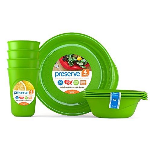 Preserve Everyday Tableware Set, Green