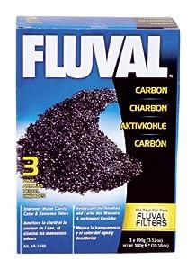 Fluval Carbon, 100-gram Nylon Bags – 3-Pack