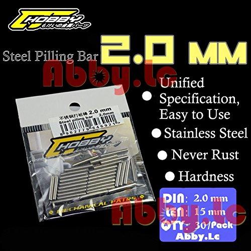 Metal Steel Pilling Bar 2.0 mm For Resin Model Build & Gundam Figures Fix Modify
