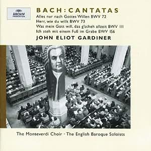 Cantates BWV 72, 73, 111 & 156