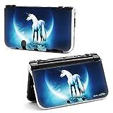 RICHEN Plastic Hard Skin Case Cover Protector Shell for Nintendo New 3DS XL LL(Unicorn) (Color: Unicorn)