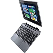 Acer One 10 S1002-112L 10.1-inch Laptop (Atom Z3735/2GB/500GB/Windows 10/Integrated Graphics), Dark Silver