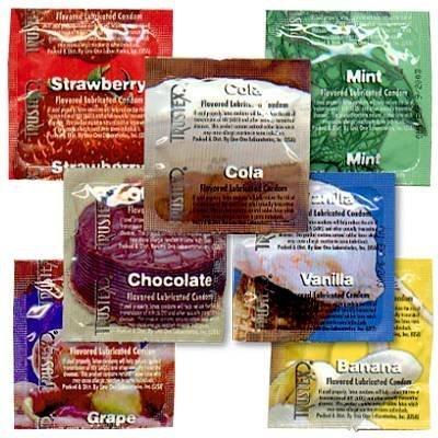 Trustex Flavored 24 Pack -- Chocolate