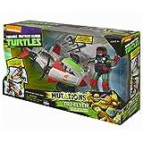 Tortugas Ninja - TMNT mutation vehículo Quad Rotor con figura (Giochi Preziosi 94260)