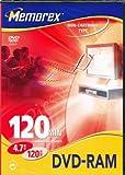 Memorex DVD RAM 47GB 120m Single