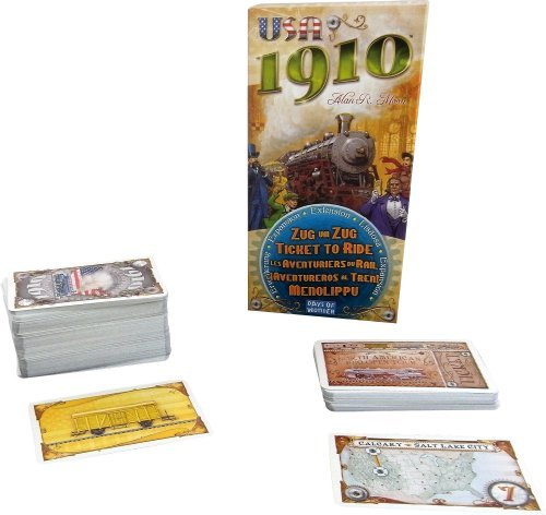 Ticket to Ride Expansion: USA 1910 by Days of Wonder (Ticket 1910 compare prices)