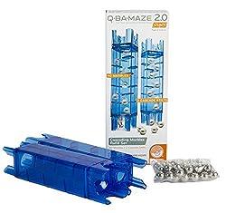 Mindware Q-BA-MAZE 2.0 Cascading Marble Refill Set, Multi Color