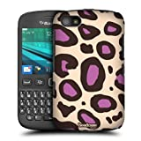 Head Case Purple Mad Prints Protective Hard Back Case Cover For Blackberry 9720