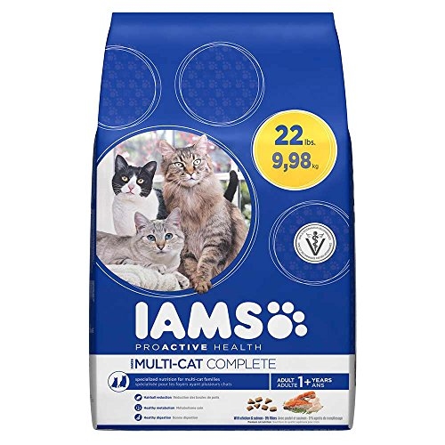 Iams ProActive Health Multi-Cat Complete With Salmon & Chicken