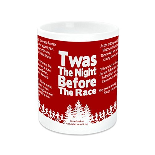 gone-for-a-run-twas-the-night-before-the-race-ceramic-mug-11-ounces-red-and-white-by-gone-for-a-run