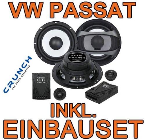 VW passat 3C &cC-haut-parleur avant crunch gTi6.2C 16 cm - 2 voies