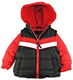 IXtreme Baby Boys Infant Vestie Puffer Hooded Jacket