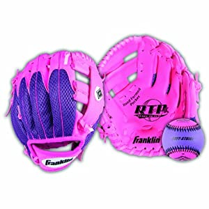 Buy Franklin Sports Teeball Recreational Series Fielding Glove with Ball for Left-Handed... by Franklin