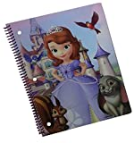 Disney Junior Sofia the First Spiral Notebook (Graphics/Colors Vary)