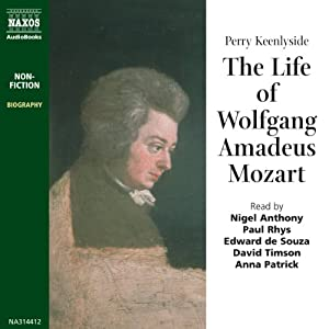 The Life of Wolfgang Amadeus Mozart Audiobook