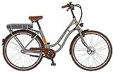 Prophete Damen Elektrofahrrad E-Bike 28 Zoll Navigator Retro, sand matt, 48, 52476-0111