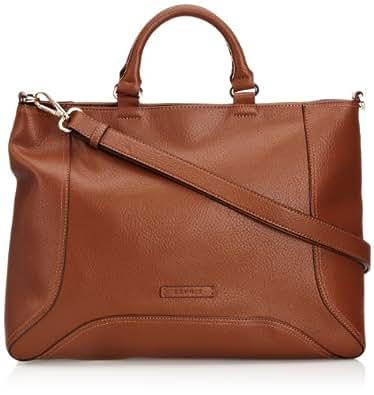 Esprit Beth City Bag, Sac porté main - Marron (896 Cognac), Taille Unique