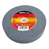 Forney 72404 Bench Grinding Wheel, Vitrified with 1-Inch Arbor, 60-Grit, 6-Inch-by-1-Inch