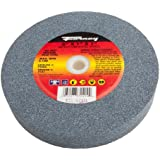 Forney 72405 Bench Grinding Wheel, Vitrified with 1-Inch Arbor, 80-Grit, 6-Inch-by-1-Inch