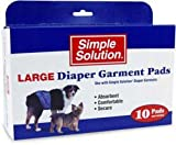 Simple Solution Disposable Liners Heavy Absorbency, 10-Pack
