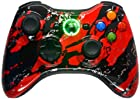 5,500+ Mode Modded Gaming Controller For Xbox 360 & PC In Custom RED SPLATTER SHELL!!! Hydro-Dipped Shell (New High Quality Finish) Will Not Chip, Scratch, or Fade -Sniper Quick Scope & Hold Your Breath,Jitter,Drop Shot,Jump Shot,Auto Aim For Nazi Zombies, Special Ops & Campaign Missions, Auto Burst 1 To 8 Rounds Per Trigger Pull,Quick Aim,Dual/Akimbo,Mimic, And More.
