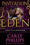 img - for Dare to Surrender (Invitation to Eden) (Dare to Love) book / textbook / text book