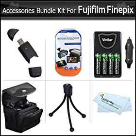 Accessories Bundle Kit For Fujifilm Finepix Digital Camera