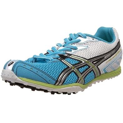 ASICS Women's Hyper-Rocketgirl XCS Track and Field Shoe,Turquoise/Lightning/Lime,11 M US