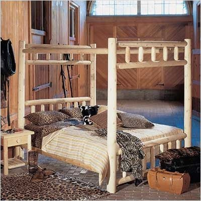 Canopy Bed Bed Size: Double