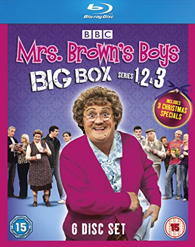 Mrs Brown's Boys-Big Box Series 1-3 [Blu-ray] (Mrs Brown Boys Region 1 compare prices)