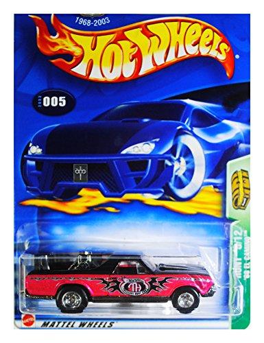 Hot Wheels 2003 Treasure Hunt '68 El Camino Pink and Black #005, 5/12