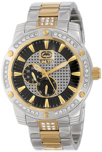 Marc Ecko Men'S E18507G2 The Possession Textured Sunray Dials Wuth Reapeat Logo Pattern Watch front-304842