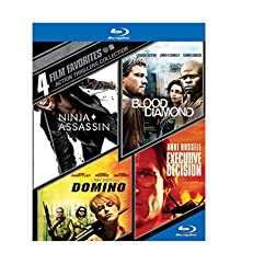 4 Film Favorites: Action Thrillers [Blu-ray]