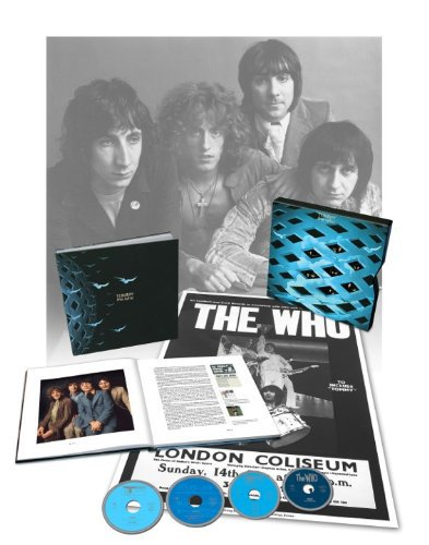 CD : The Who - Tommy (With Blu-Ray, Deluxe Edition, Oversize Item Split, 4 Disc)