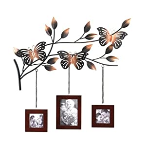 Butterfly frames wall decor kitchen home for Home decorations amazon