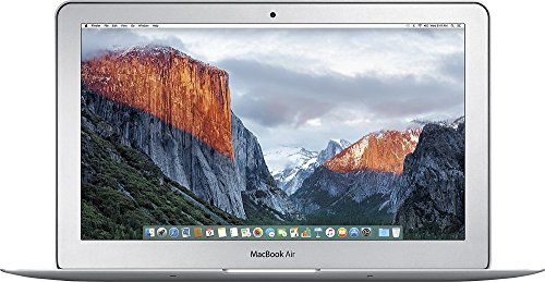 New Apple MacBook Air MJVM2LL/A 11.6-Inch laptop (Intel Core i5 Dual-Core Processor 1.6GHz, 4GB RAM, 128GB SSD, Mac OS X El Capitan) Latest VERSION