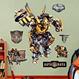 Bumblebee Transformers Fathead REAL.BIG Wall Graphic