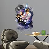 "RoomMates RMK3026TB Star Wars Classic Mega Peel and Stick Giant Wall Decals, 22.7"" x 35"""