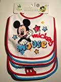 Disney Baby Bibs - Mickey Asst - 6 Pack