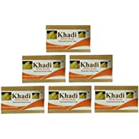 Khadi White Musk Soap 125gm Combo(Pack Of 6)