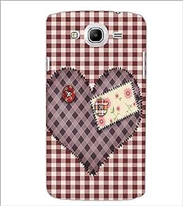 PrintDhaba Heart D-2258 Back Case Cover for SAMSUNG GALAXY MEGA 5.8 (Multi-Coloured)