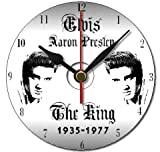 Elvis Presley The King personalised gift cd clock with free display stand